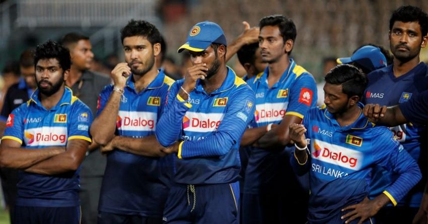 Kumar Sangakkara on  Sri Lanka Cricket   team