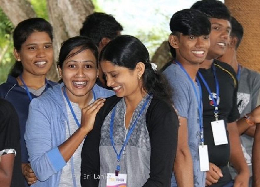 UNFPA celebrates Youth Day by engaging Lankan youth for peace