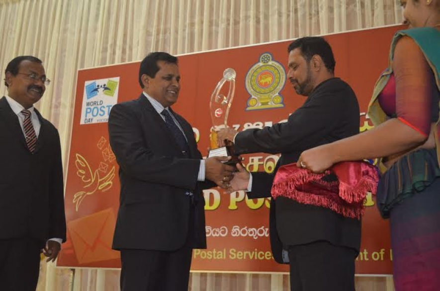 Service of Postal Department Appreciated  on World Post Day