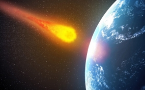 Huge asteroid may hit earth to abolish human life