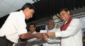 Sabaragamuwa province gets Rs. 7,435 m. for development