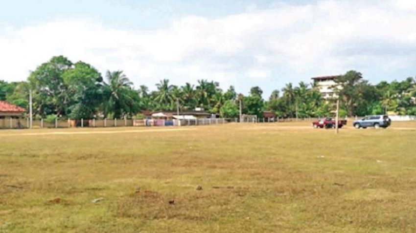 Aquatic sports complex in Manipay