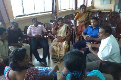 Awareness programme on prevention of drugs for teachers in Wadamarachchi