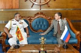 Russian Ambassador calls on Navy Commander