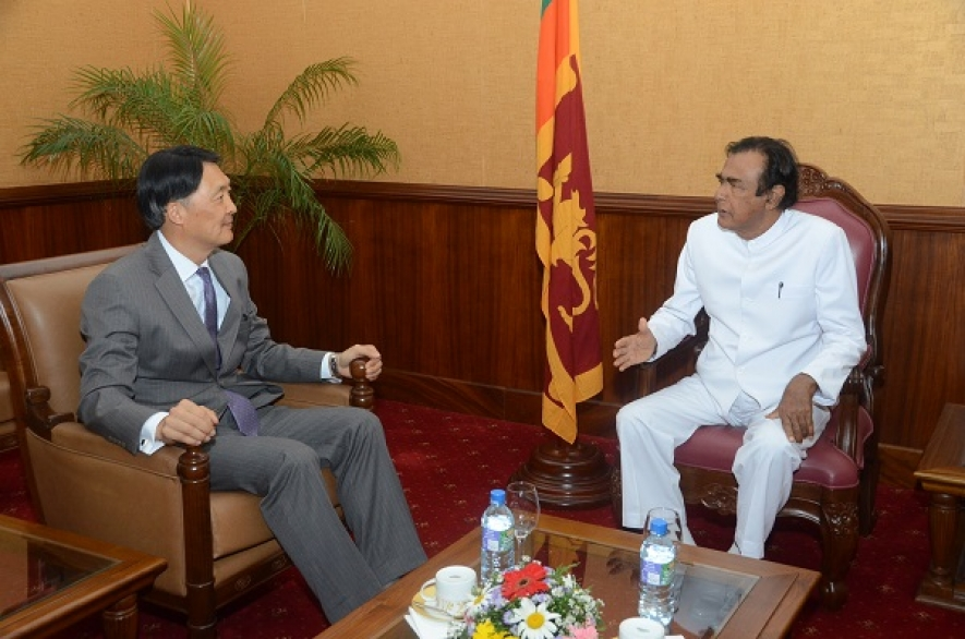 Korea pledges support for Sri Lankan Government's stability