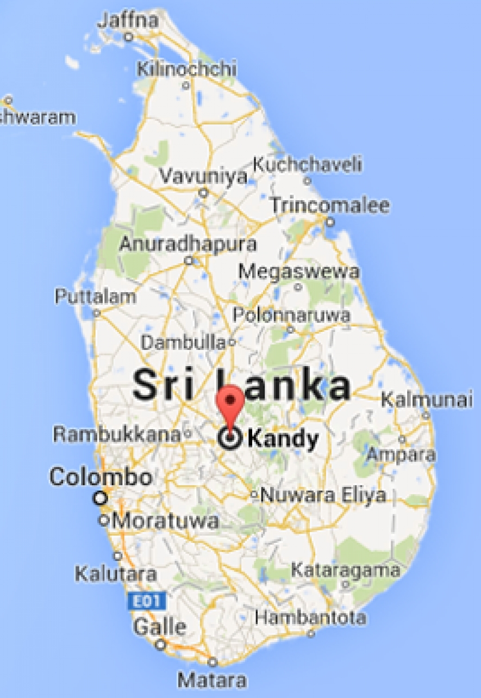 Kandy To Be Developed As Sri Lanka S First Smart City