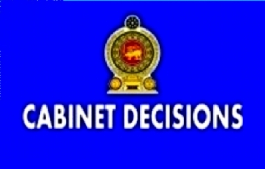 Decisions taken by the Cabinet of Ministers at the meeting held on 14-10-2015
