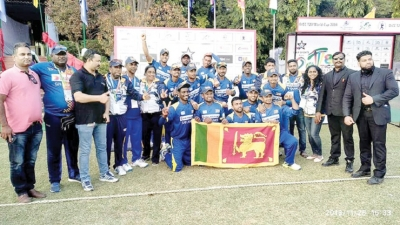 Lankan Deaf Cricketers enter super three stage