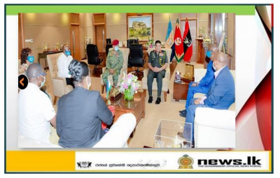 Rwandan Fact-Finding Mission on Fall Armyworm Control Pays Courtesies on General Shavendra Silva