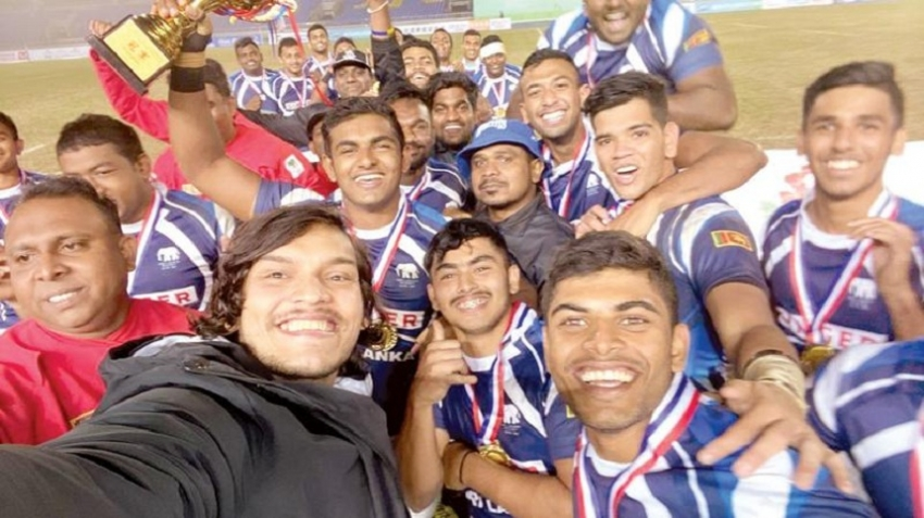 Sri Lanka pocket Asian youth rugby prize