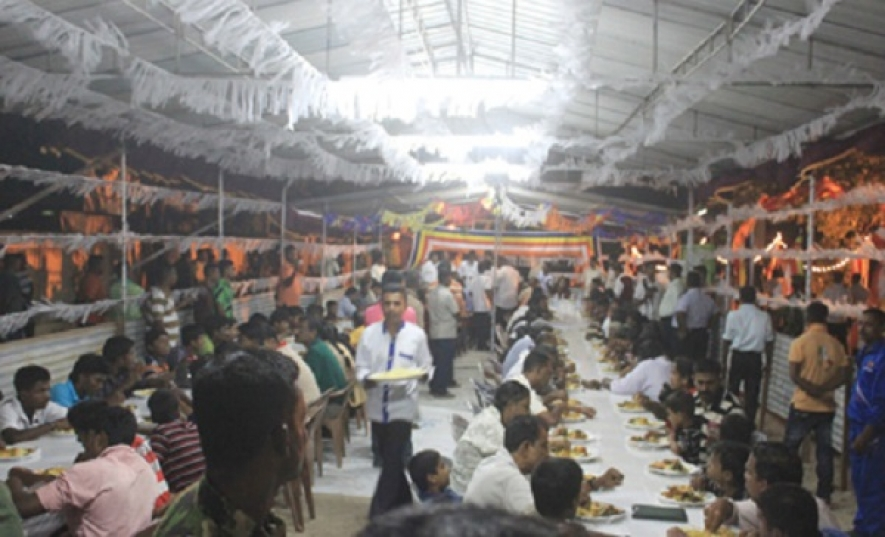 Massive Crowd over 100,000 Visit Jaffna Vesak Zone on the First Day