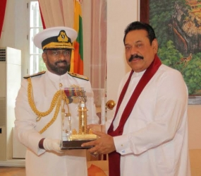 Outgoing Navy Commander calls on President