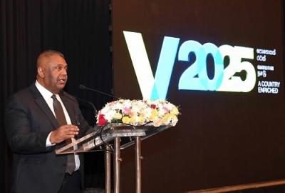 "business forum to introduce Enterprise Sri Lanka and the rapid rural infrastructure investment scheme ""GAMPERALIYA"""