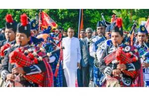 Eternal Memories of War Heroes  Re-kindled  at Battaramulla